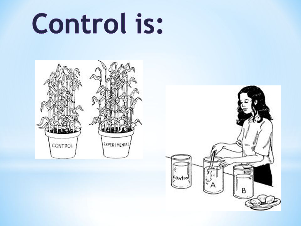 Control is: