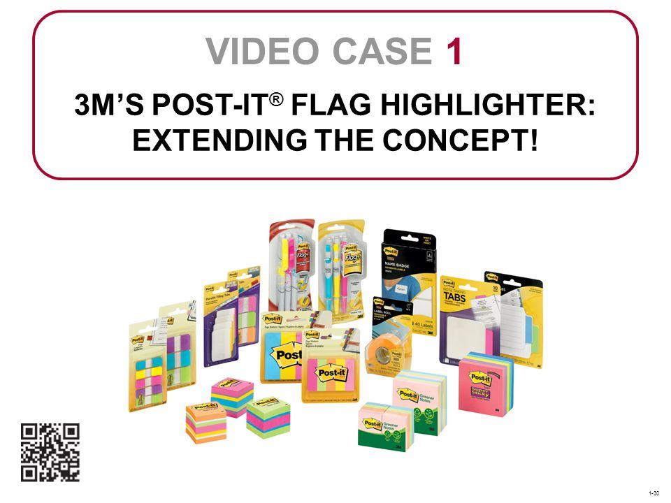 3M'S POST-IT® FLAG HIGHLIGHTER: EXTENDING THE CONCEPT!