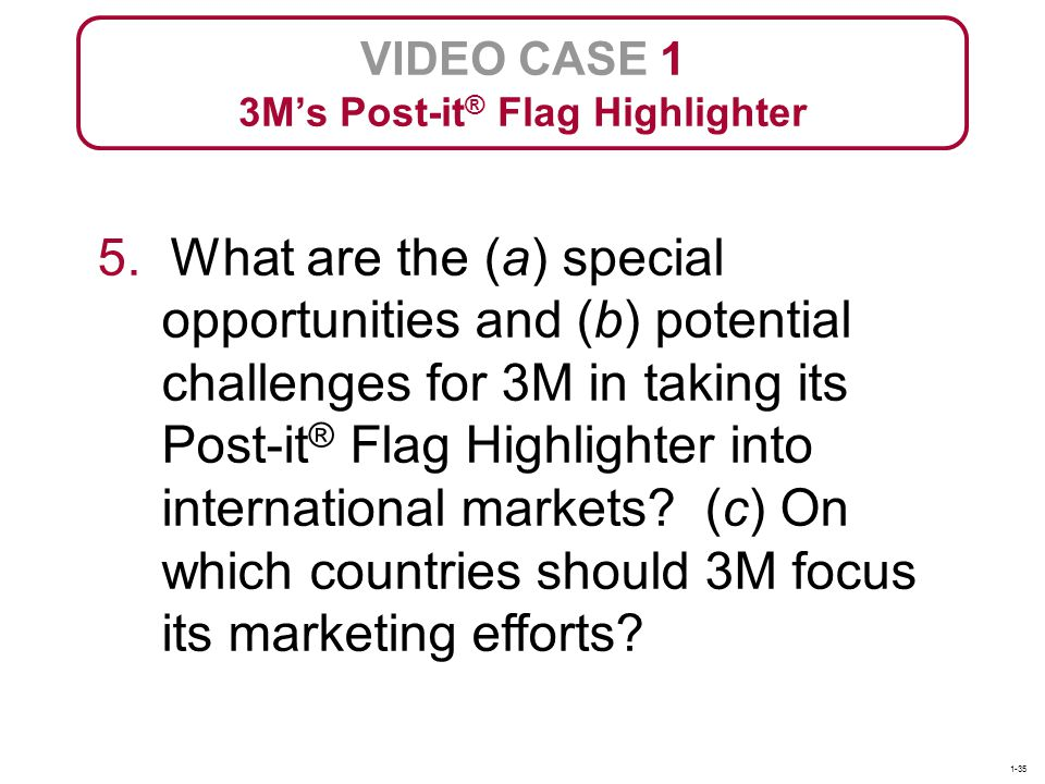 3M's Post-it® Flag Highlighter