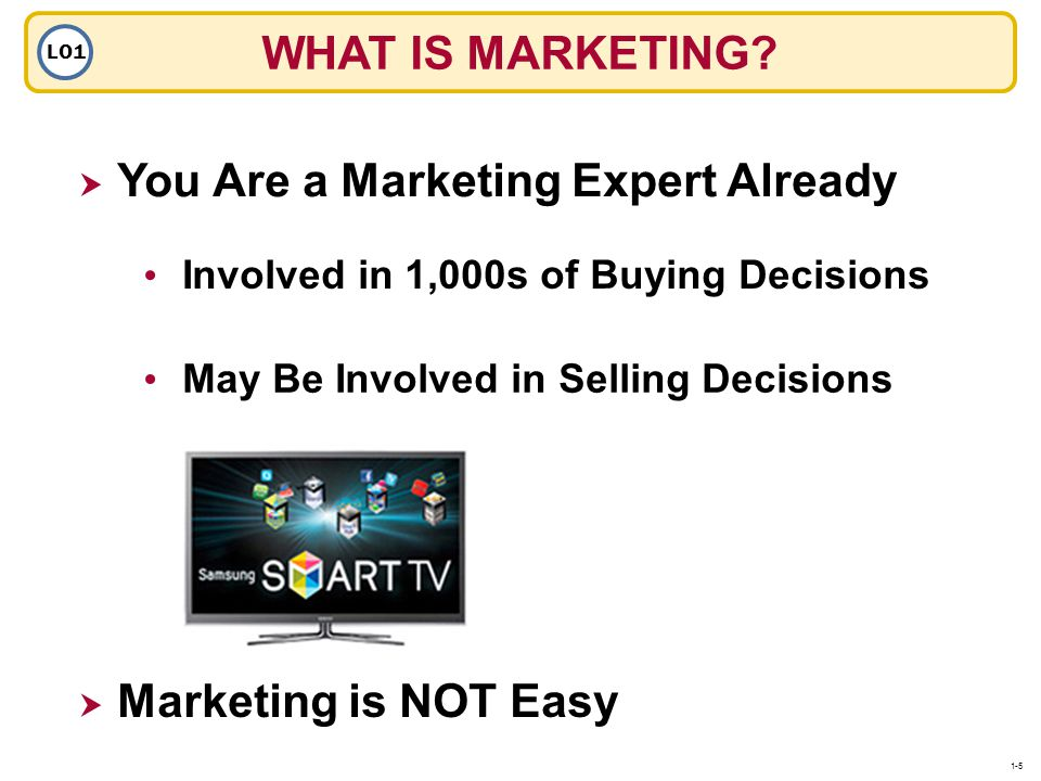 You Are a Marketing Expert Already