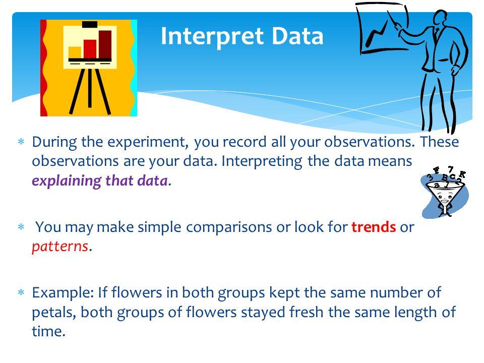 Interpret Data