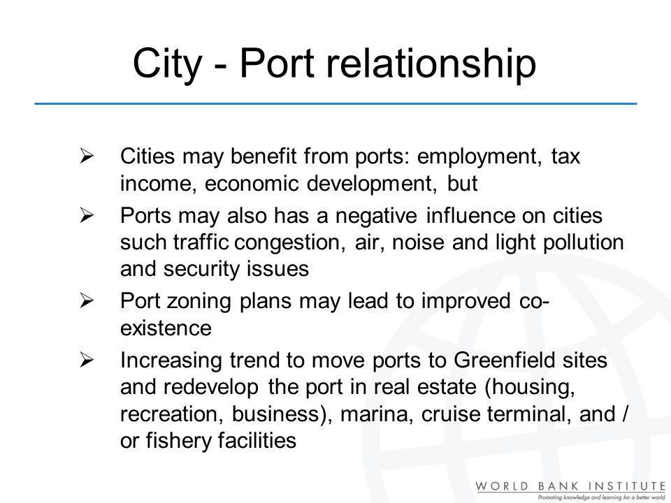 City - Port relationship