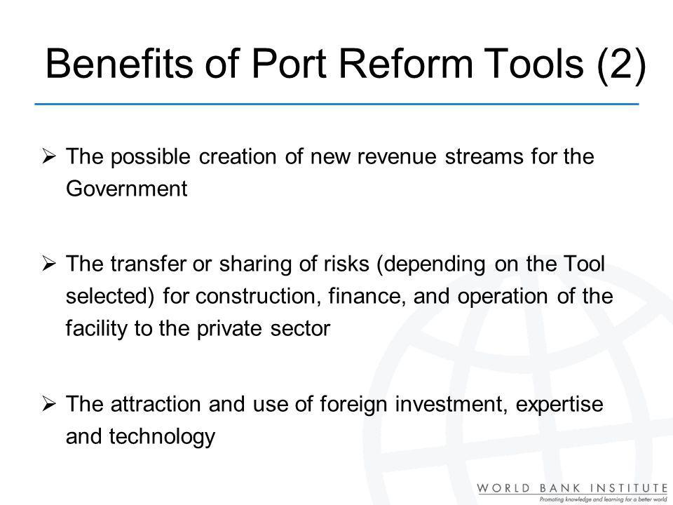 Benefits of Port Reform Tools (2)
