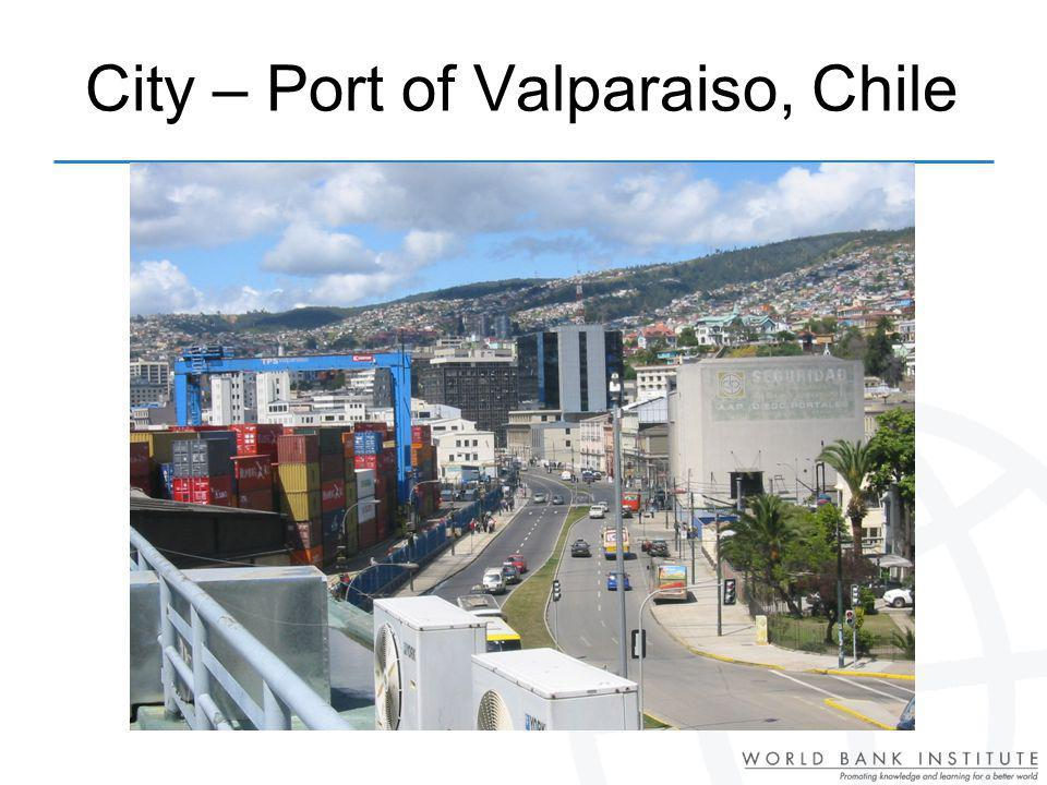 City – Port of Valparaiso, Chile