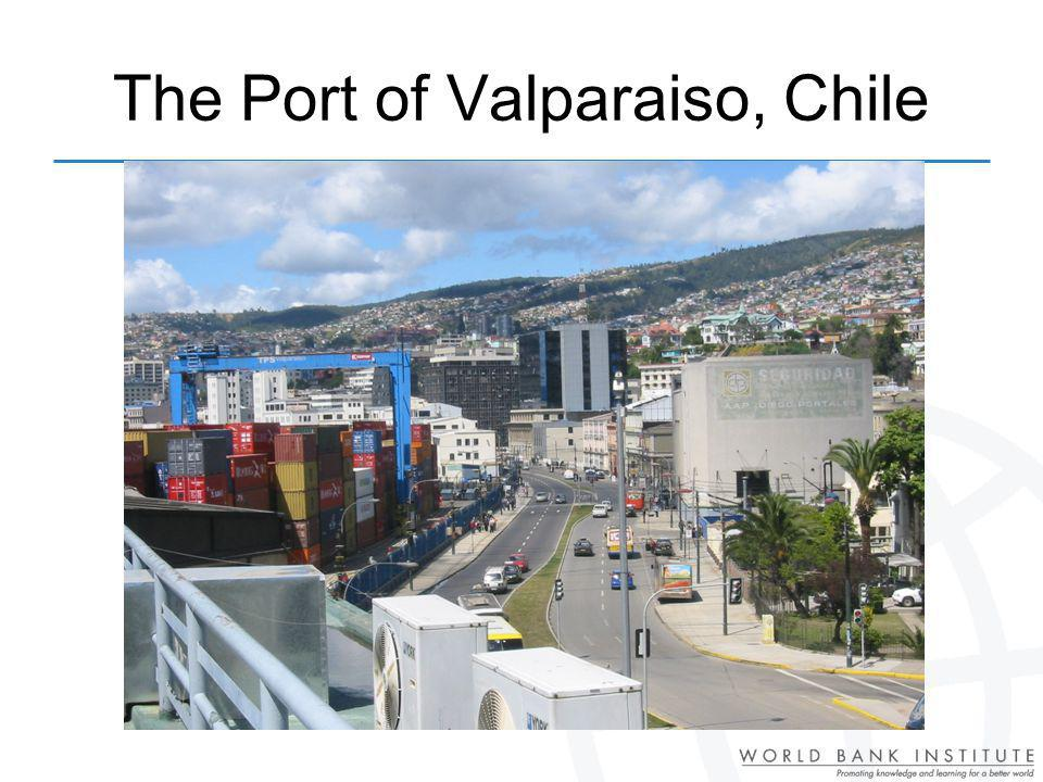 The Port of Valparaiso, Chile