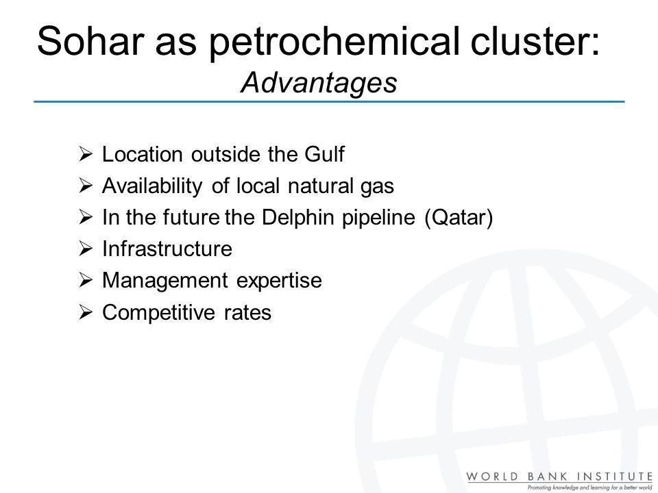 Sohar as petrochemical cluster: Advantages