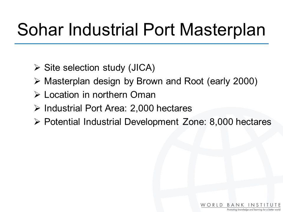 Sohar Industrial Port Masterplan
