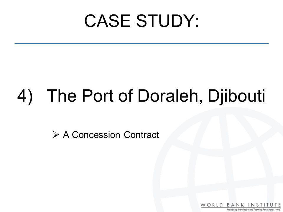 4) The Port of Doraleh, Djibouti