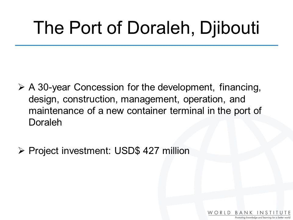 The Port of Doraleh, Djibouti