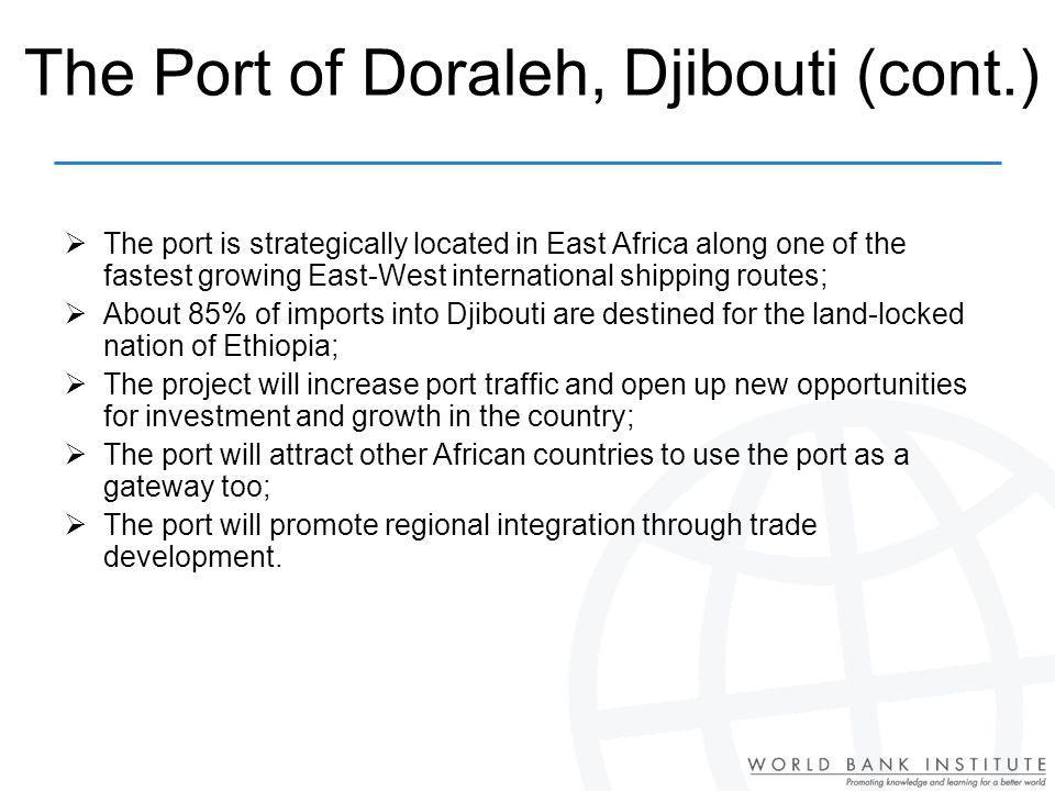 The Port of Doraleh, Djibouti (cont.)