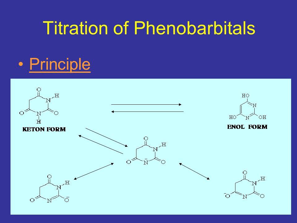 Titration of Phenobarbitals