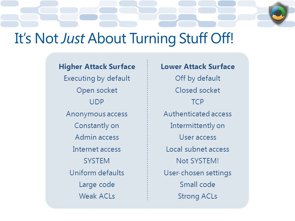 It's Not Just About Turning Stuff Off!