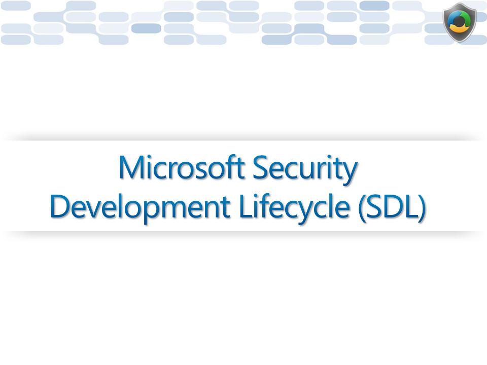 Microsoft Security Development Lifecycle (SDL)