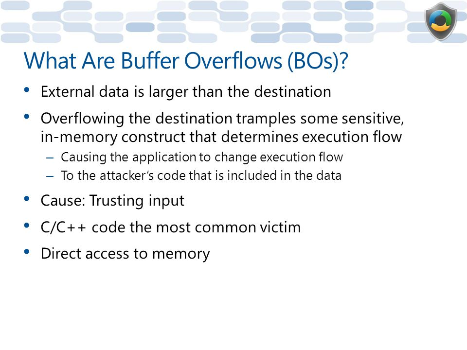 What Are Buffer Overflows (BOs)