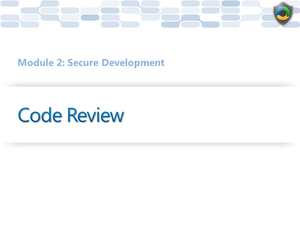 Module 2: Secure Development