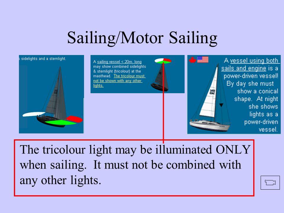 Sailing/Motor Sailing