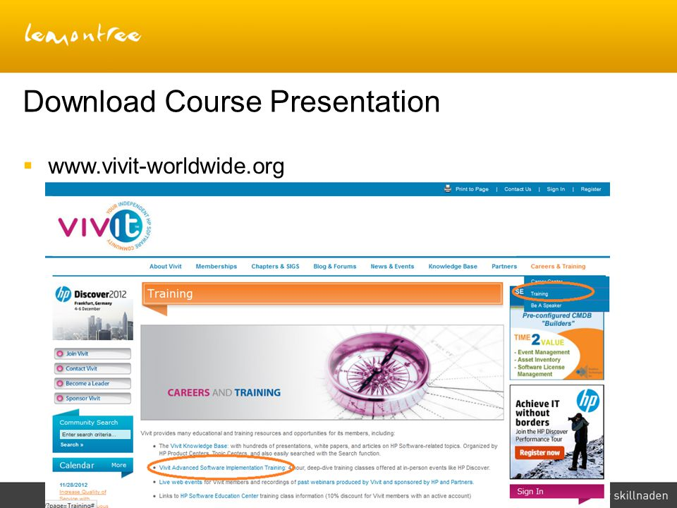 Download Course Presentation