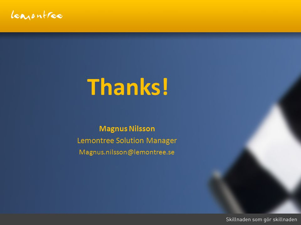 Lemontree Solution Manager