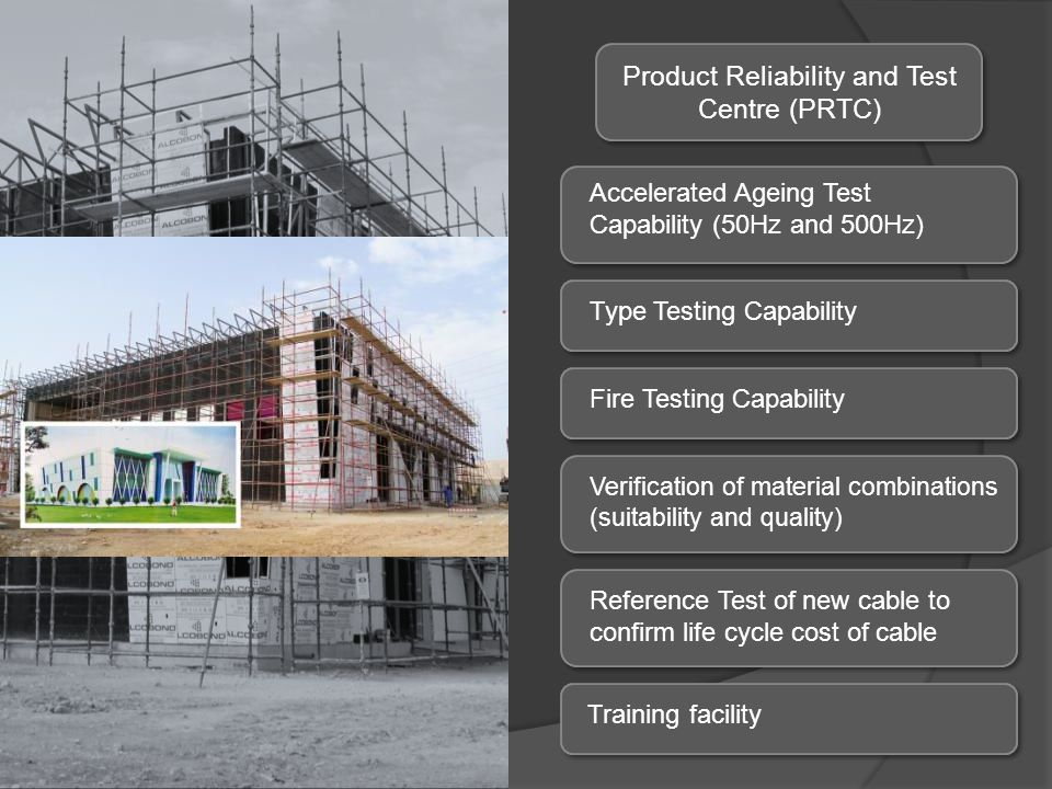 Product Reliability and Test Centre (PRTC)