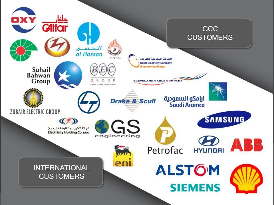 INTERNATIONAL CUSTOMERS GCC