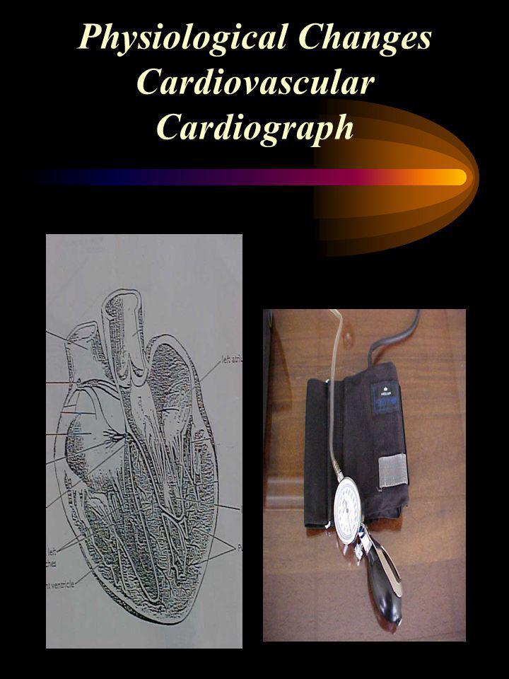 Physiological Changes Cardiovascular Cardiograph