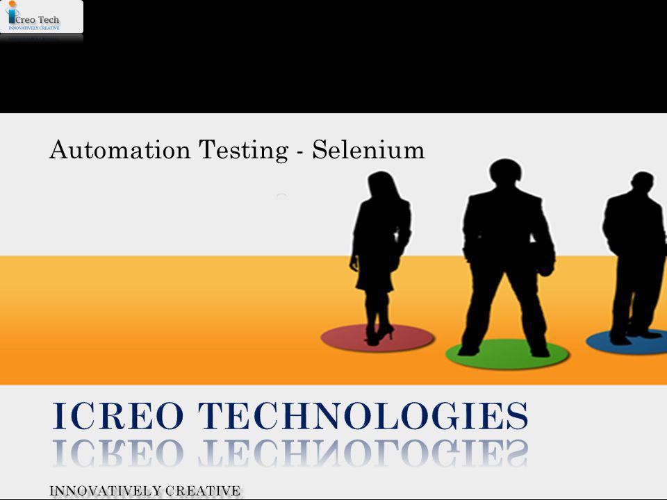 Automation Testing - Selenium