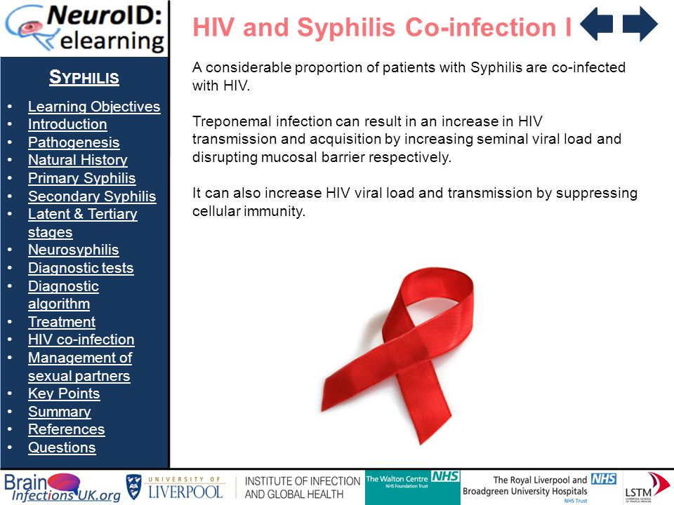 HIV and Syphilis Co-infection I
