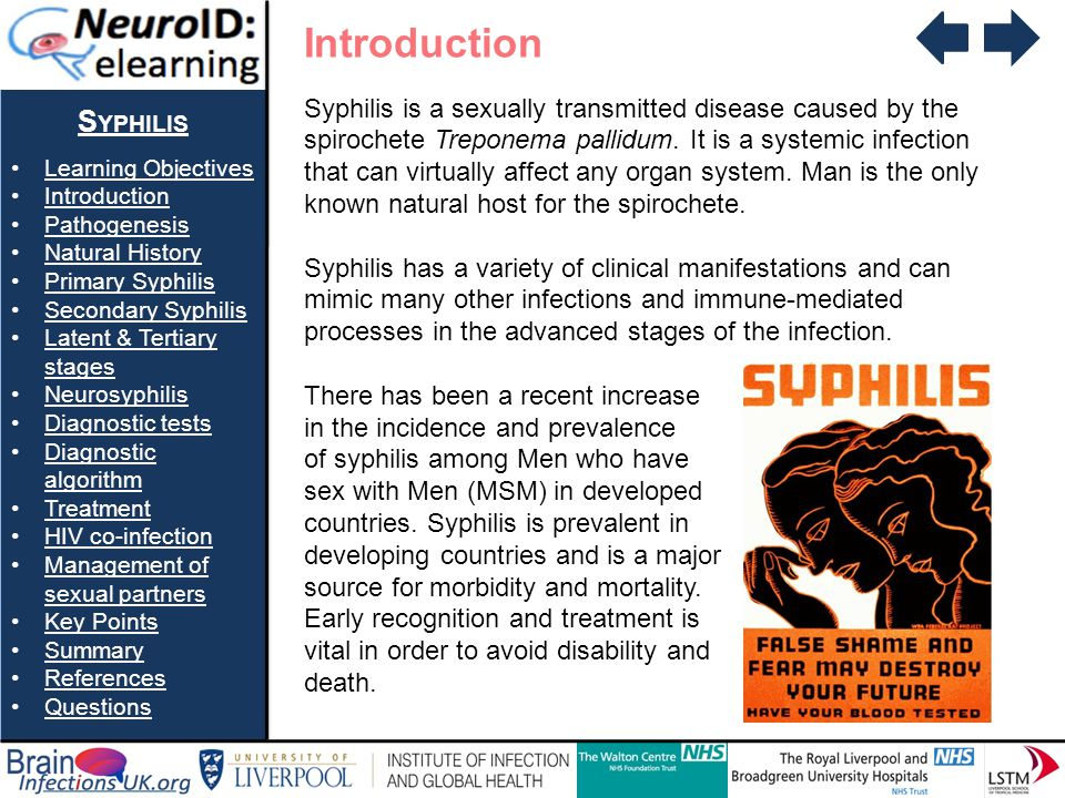 Introduction Syphilis