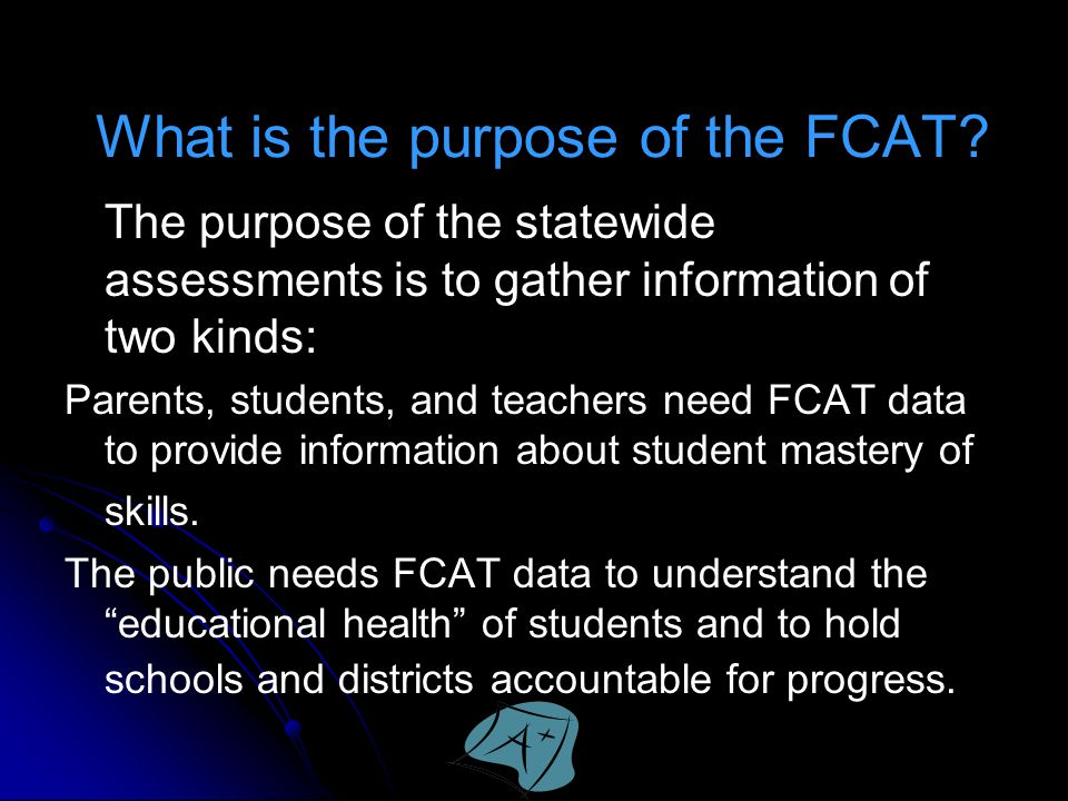 What is the purpose of the FCAT