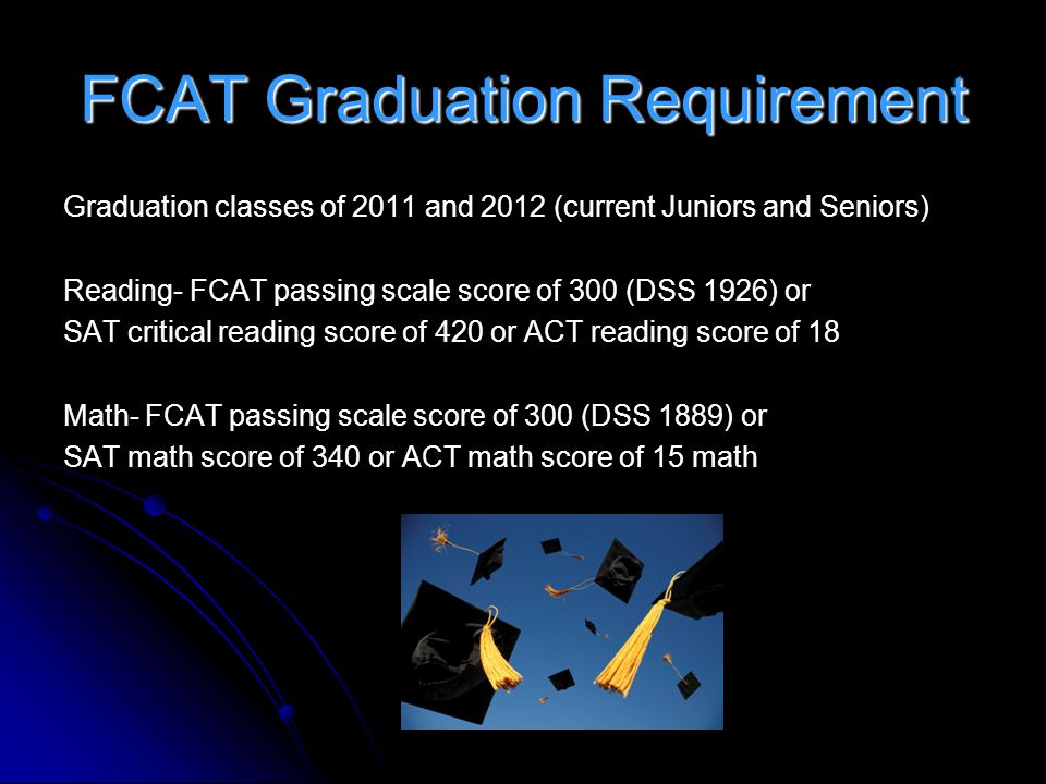 FCAT Graduation Requirement
