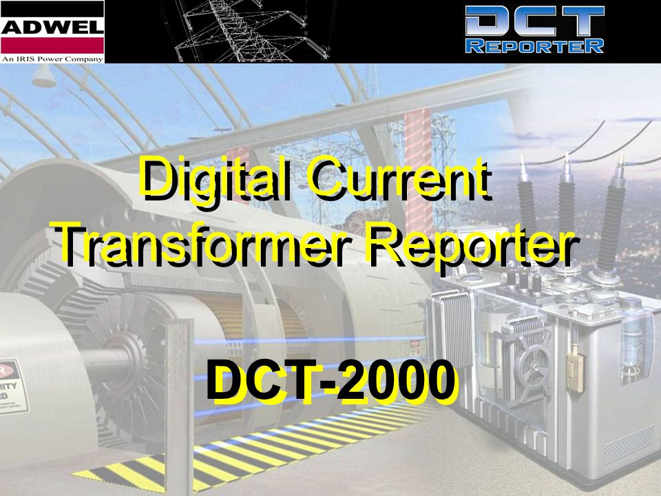 Digital Current Transformer Reporter