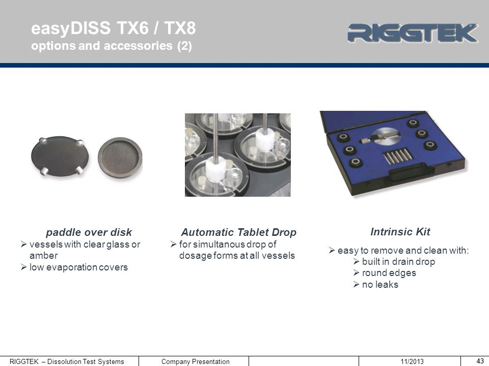 easyDISS TX6 / TX8 options and accessories (2) paddle over disk