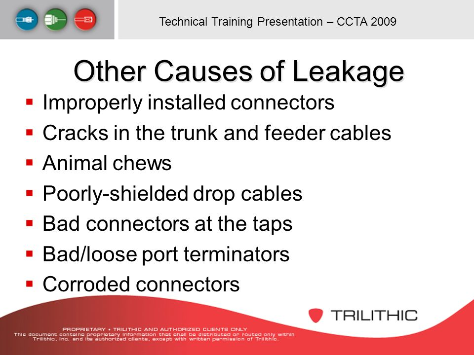 Other Causes of Leakage