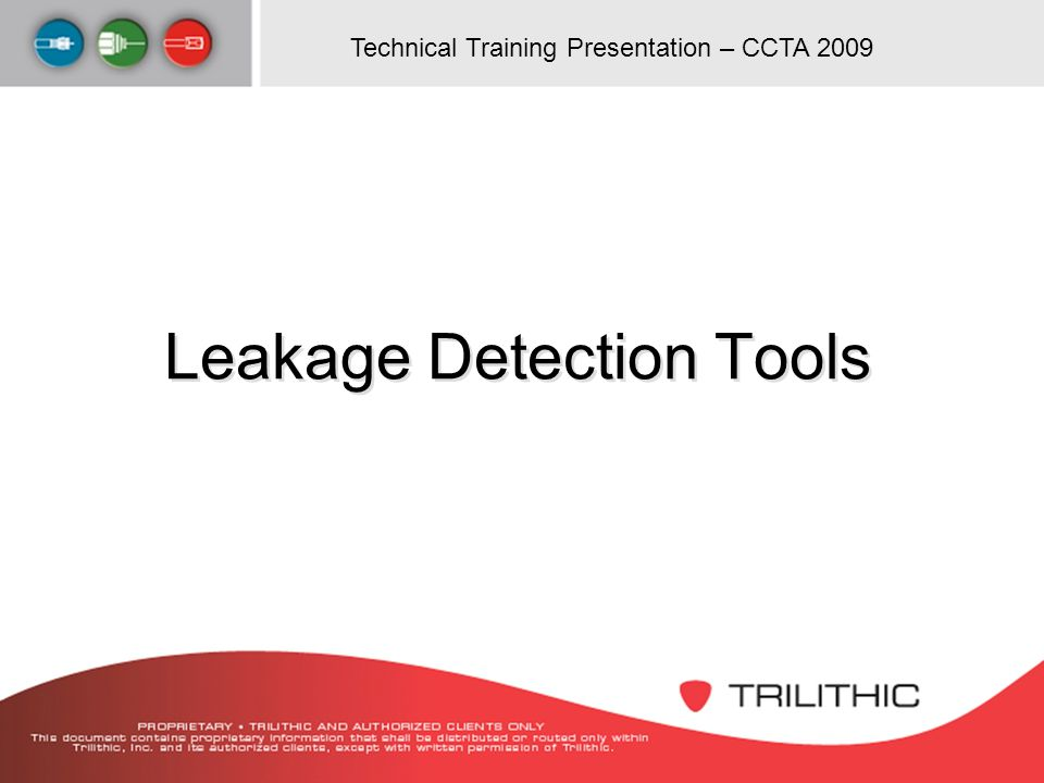 Leakage Detection Tools
