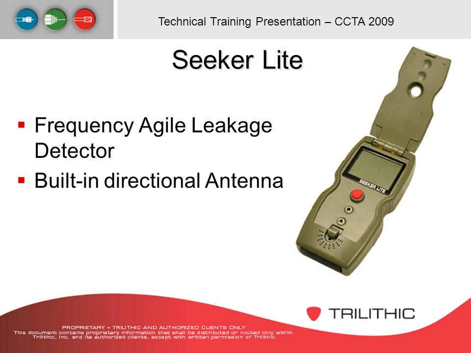Seeker Lite Frequency Agile Leakage Detector