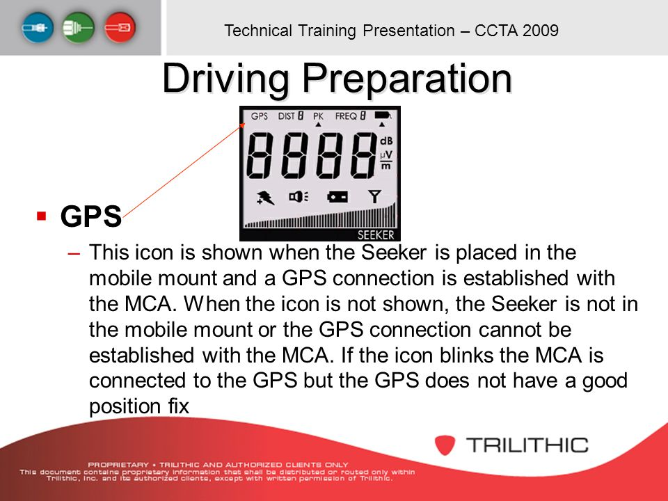 Driving Preparation GPS