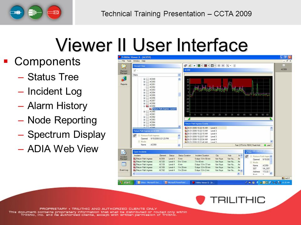 Viewer II User Interface