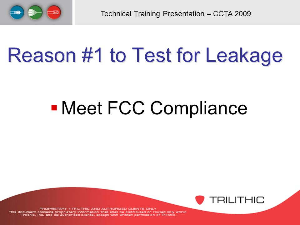 Reason #1 to Test for Leakage
