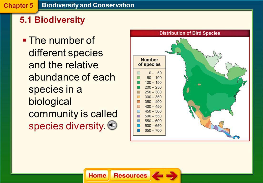 Chapter 5 Biodiversity and Conservation. 5.1 Biodiversity.