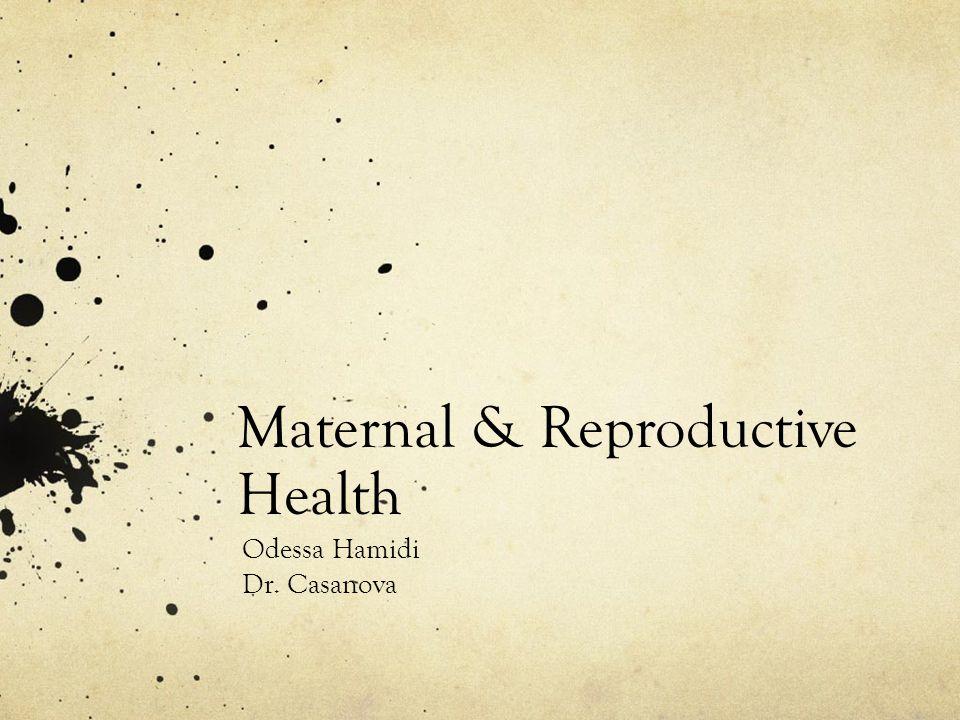Maternal & Reproductive Health