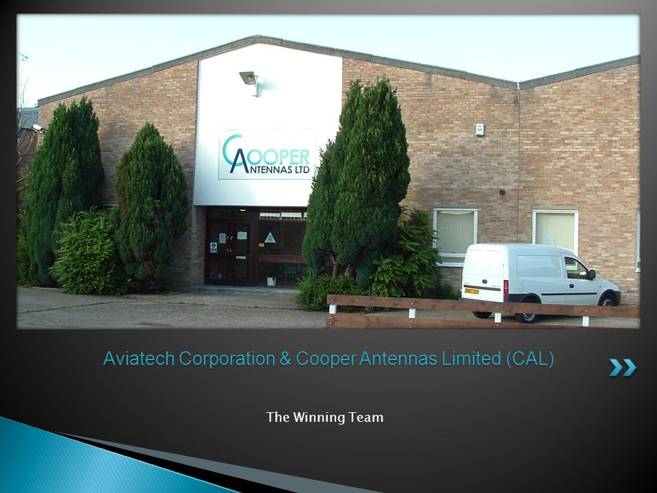 Aviatech Corporation & Cooper Antennas Limited (CAL)
