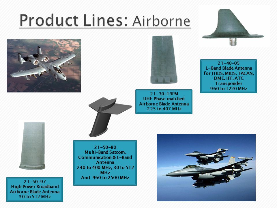 Product Lines: Airborne