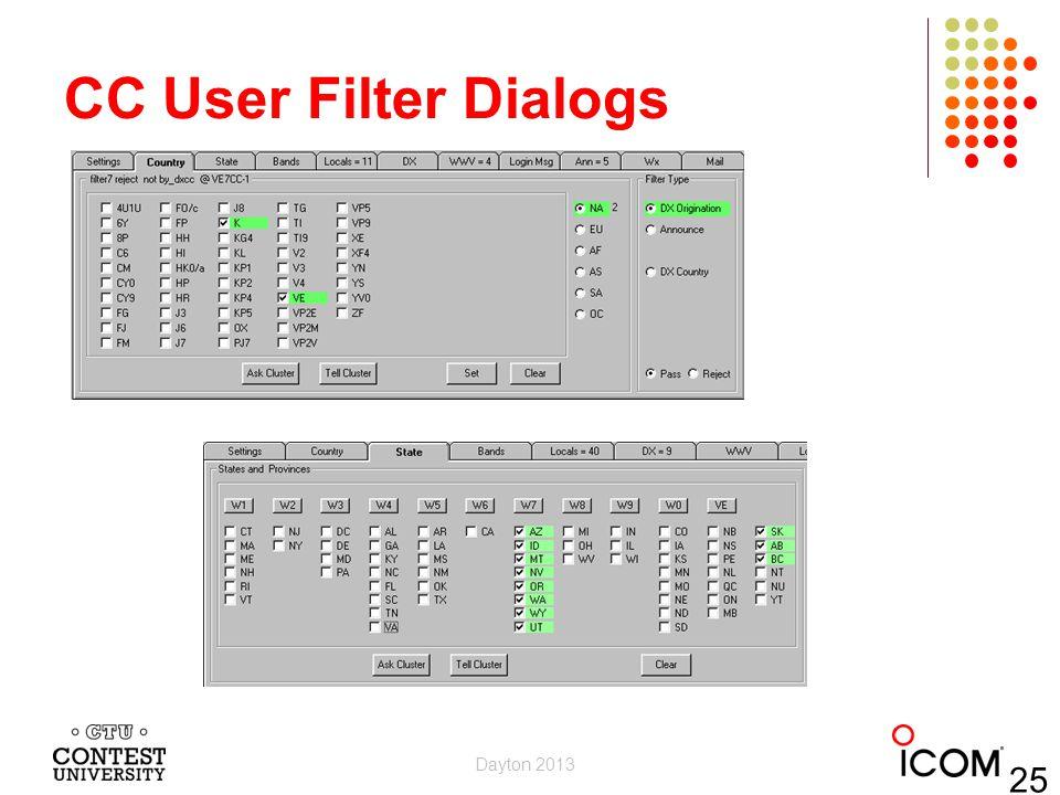 CC User Filter Dialogs Dayton 2013 25