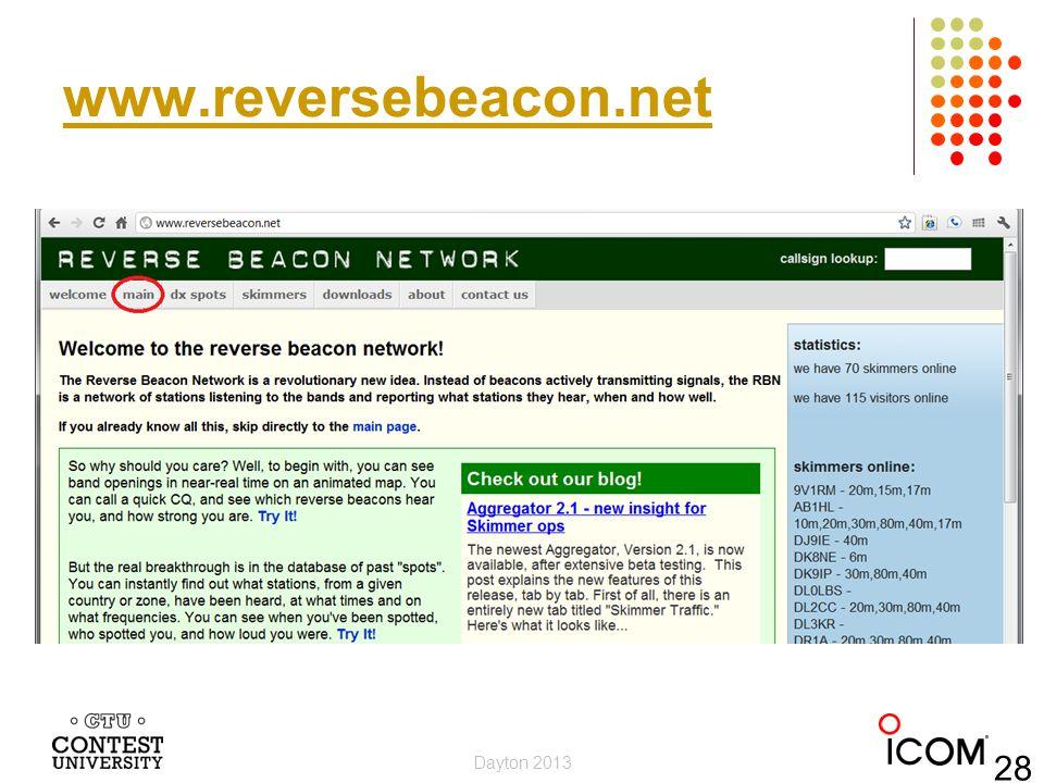 www.reversebeacon.net Dayton 2013 28