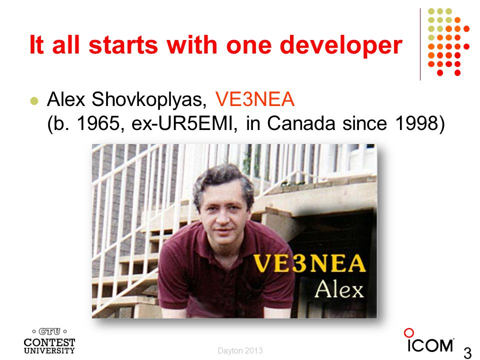 It all starts with one developer