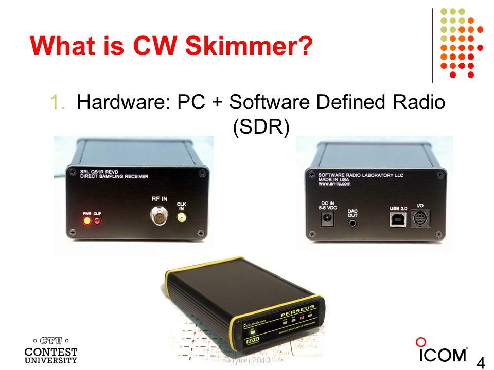 Hardware: PC + Software Defined Radio (SDR)