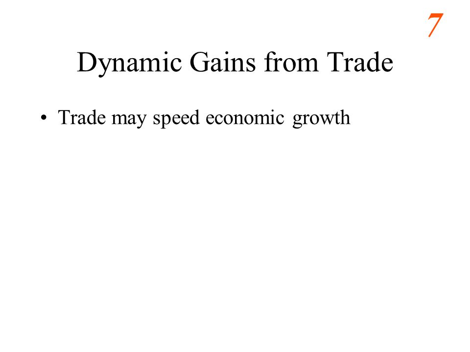 Dynamic Gains from Trade