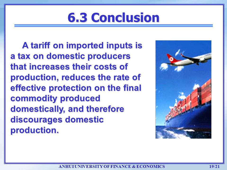 6.3 Conclusion
