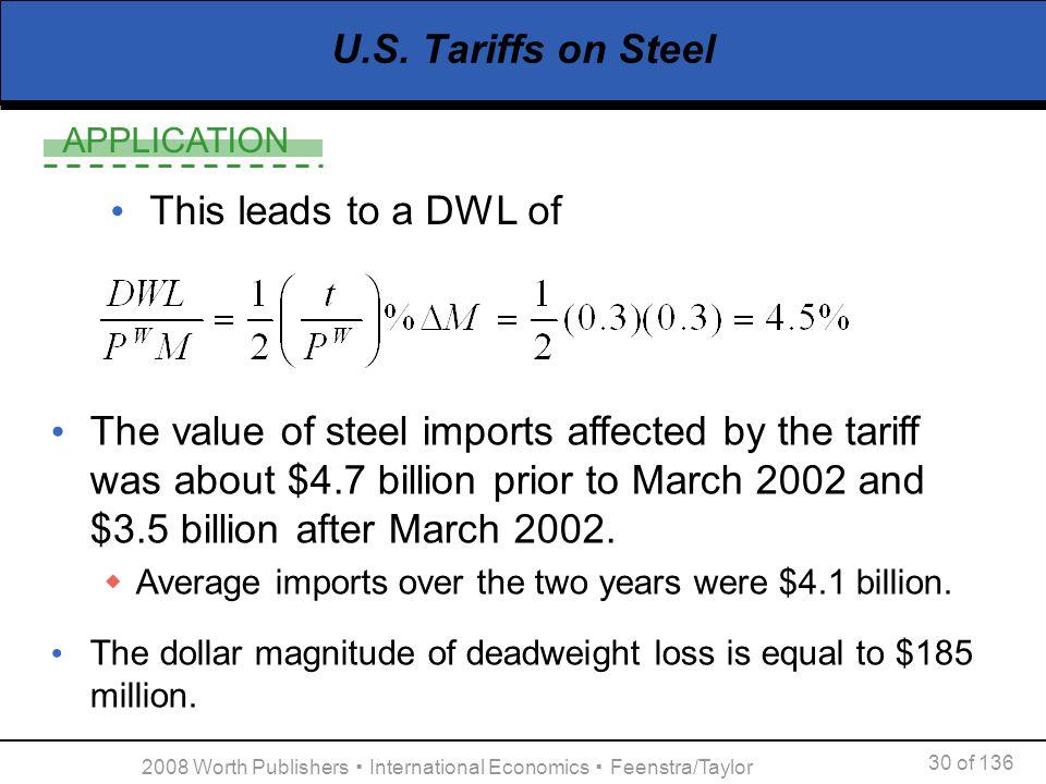 2008 Worth Publishers ▪ International Economics ▪ Feenstra/Taylor